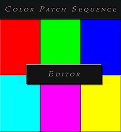 Color Patch Sequence Editor